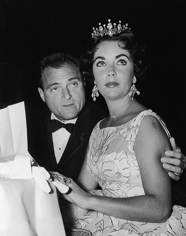Elizabeth Taylor Mike Todd best dressed golden globes