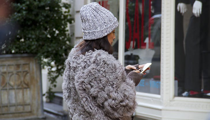 Faux Fur Jacket Winter Accessories Under  100