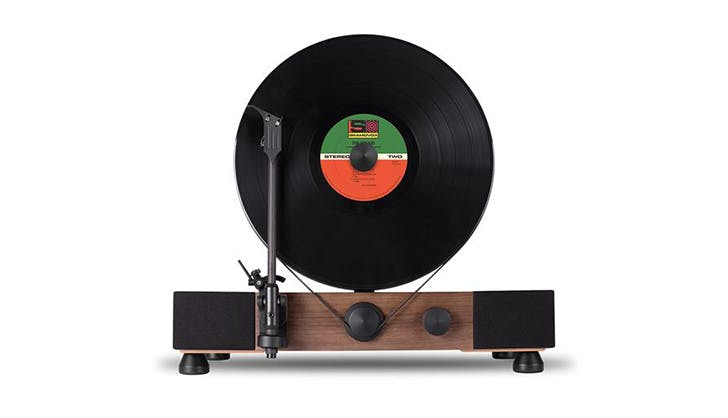 Floating Record Turntable