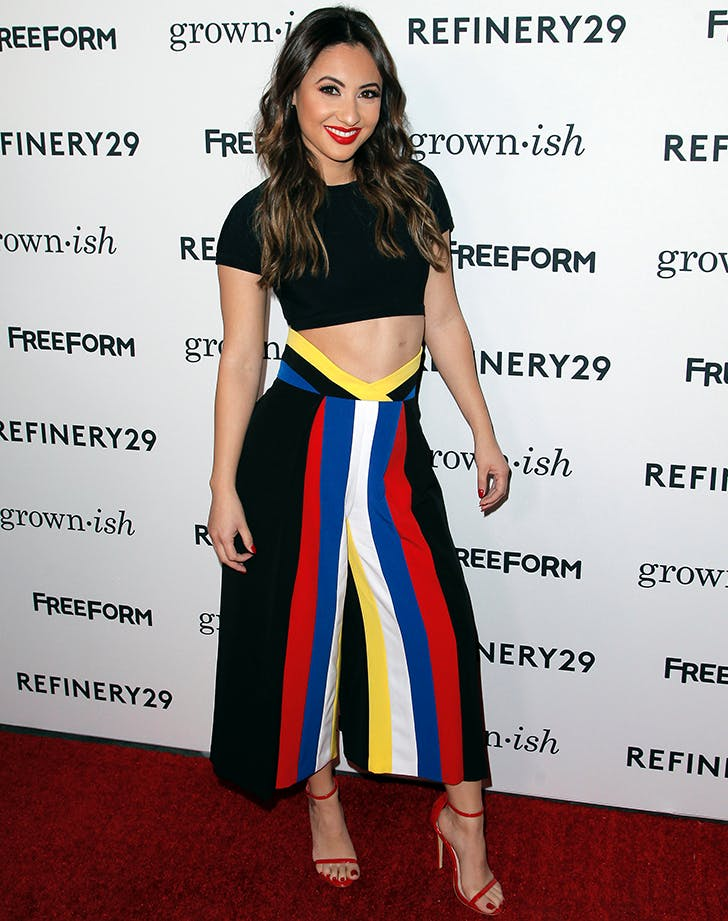 Francia Raisa wears crop top transplant scars
