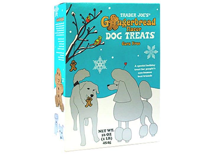 Gingerbread flavor dog treats trader joe last minute stocking stuffers