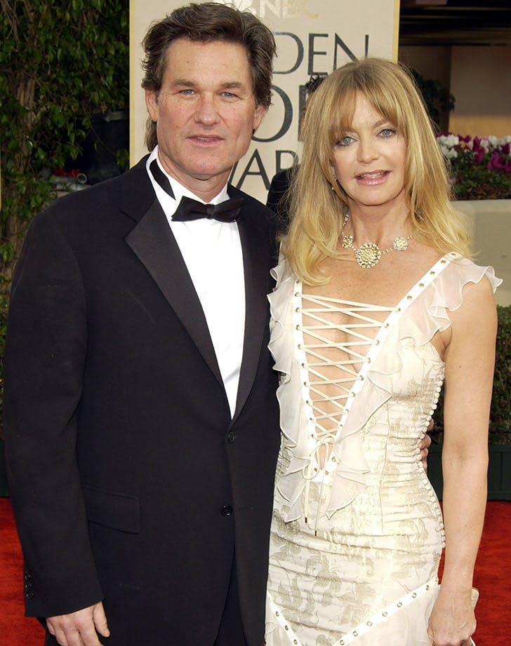 Goldie Hawn Kurt Russell best dressed golden globes