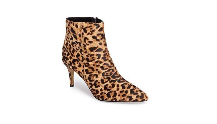 Halogen Leopard Bootie