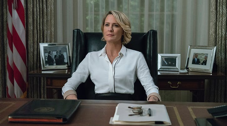 In Claire We Trust: Robin Wright to Lead Season 6 of 'House of Cards'
