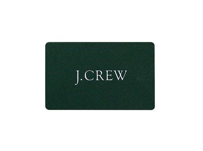 J.Crew gift card