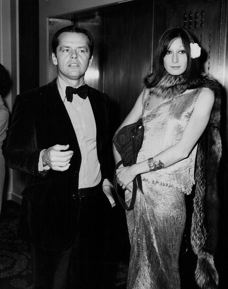 JACK NICHOLSON ANJELICA HUSTON best dressed golden globes
