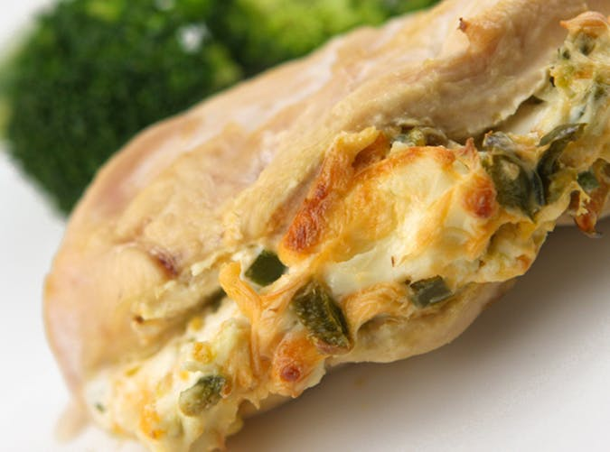 Jalapeno Cream Cheese Stuffed Chicken Breasts