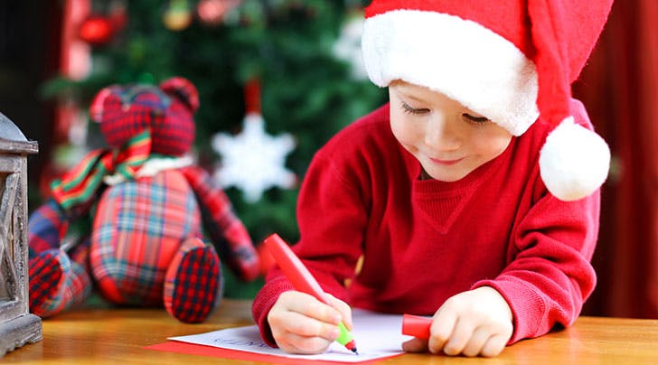 The Cutest Way to Spread Holiday Cheer? Respond to Real Kids Letters to Santa