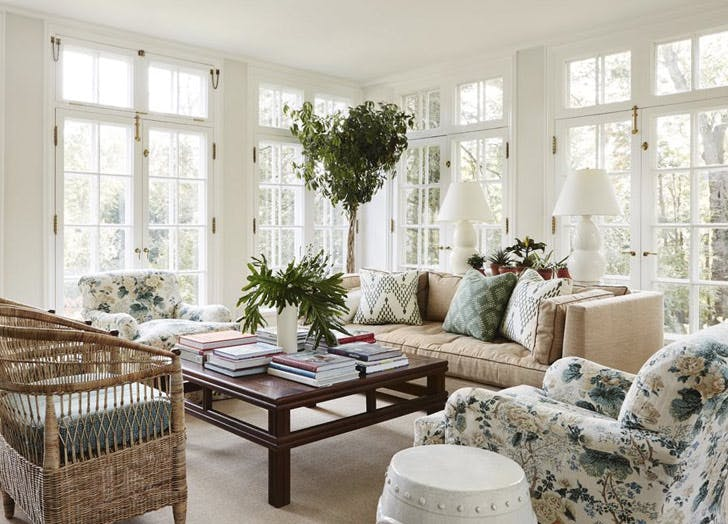LA home tricks chintz decor