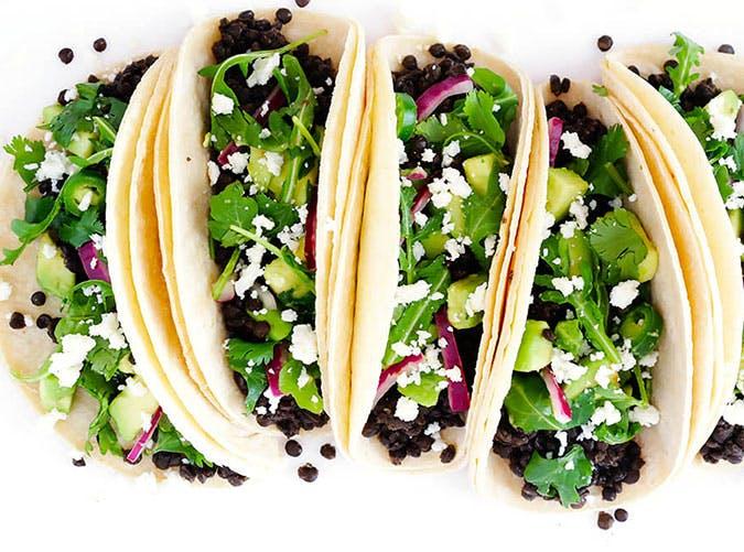 Lentil Avocado Tacos Clean Eating Recipe