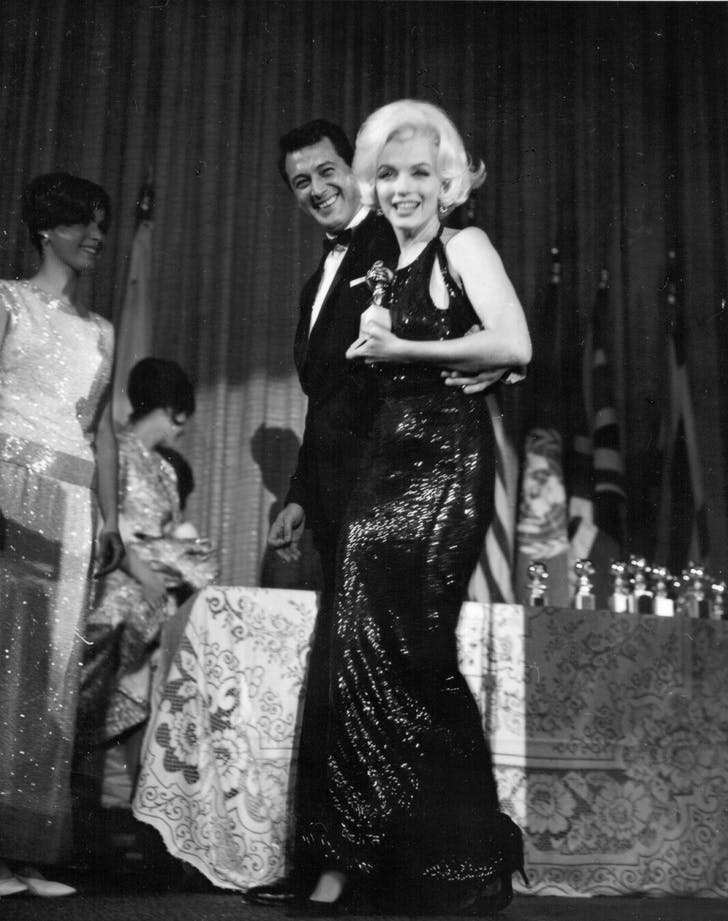 Marilyn Monroe Golden Globes best dressed