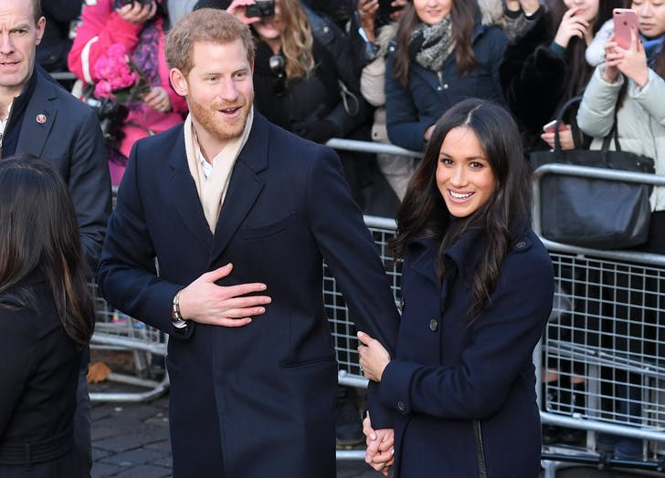 Meghan Markle Prince Harry first outing