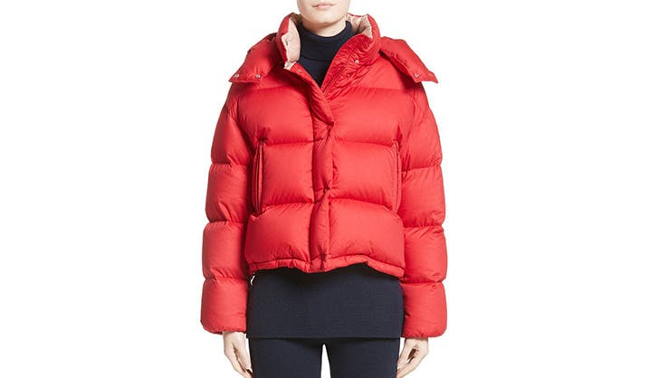 Moncler Cropped Puffer Jacket