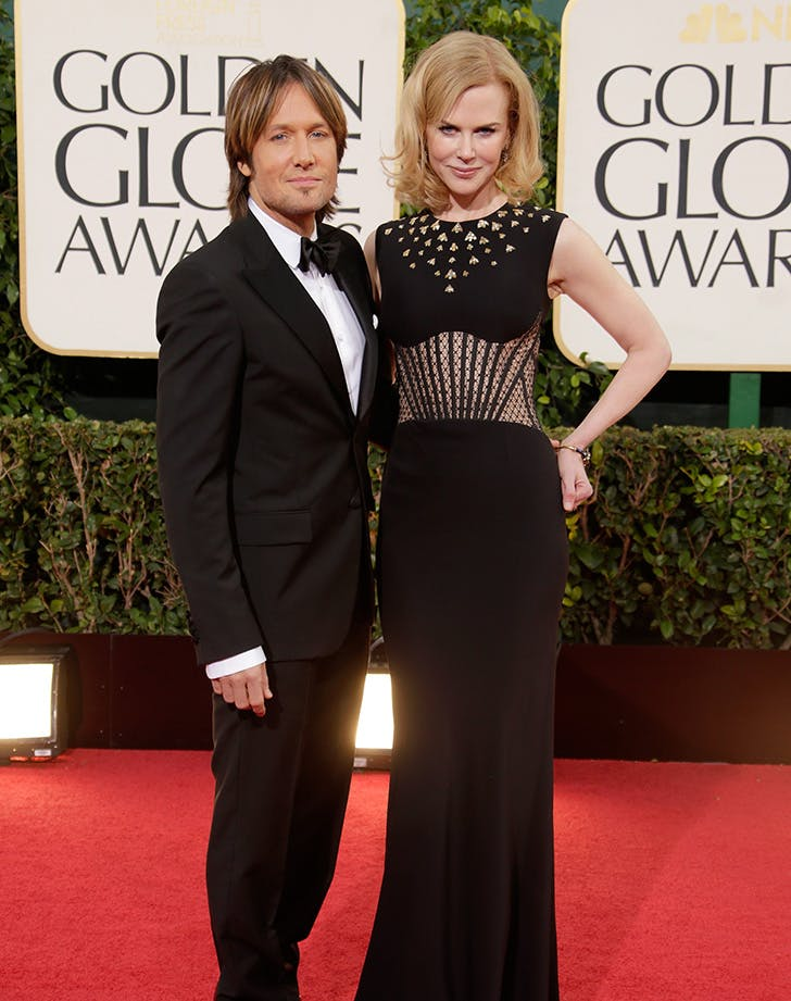 Nicole Kidman Keith Urban best dressed golden globes couple