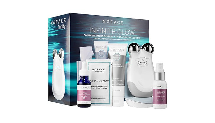 NuFace Infinite Glow Face Kit