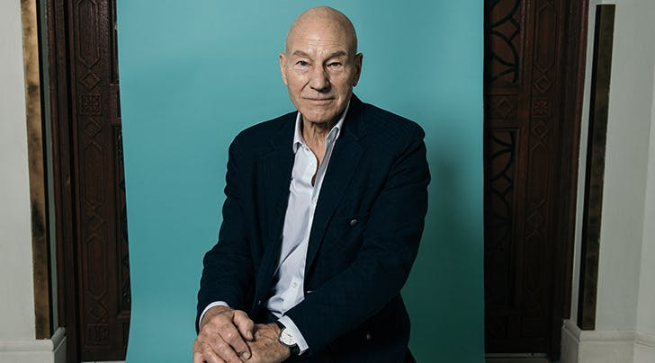 Patrick Stewart Is So Here for Quentin Tarantino's New 'Star Trek