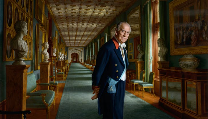 Prince Philip retirement portrait