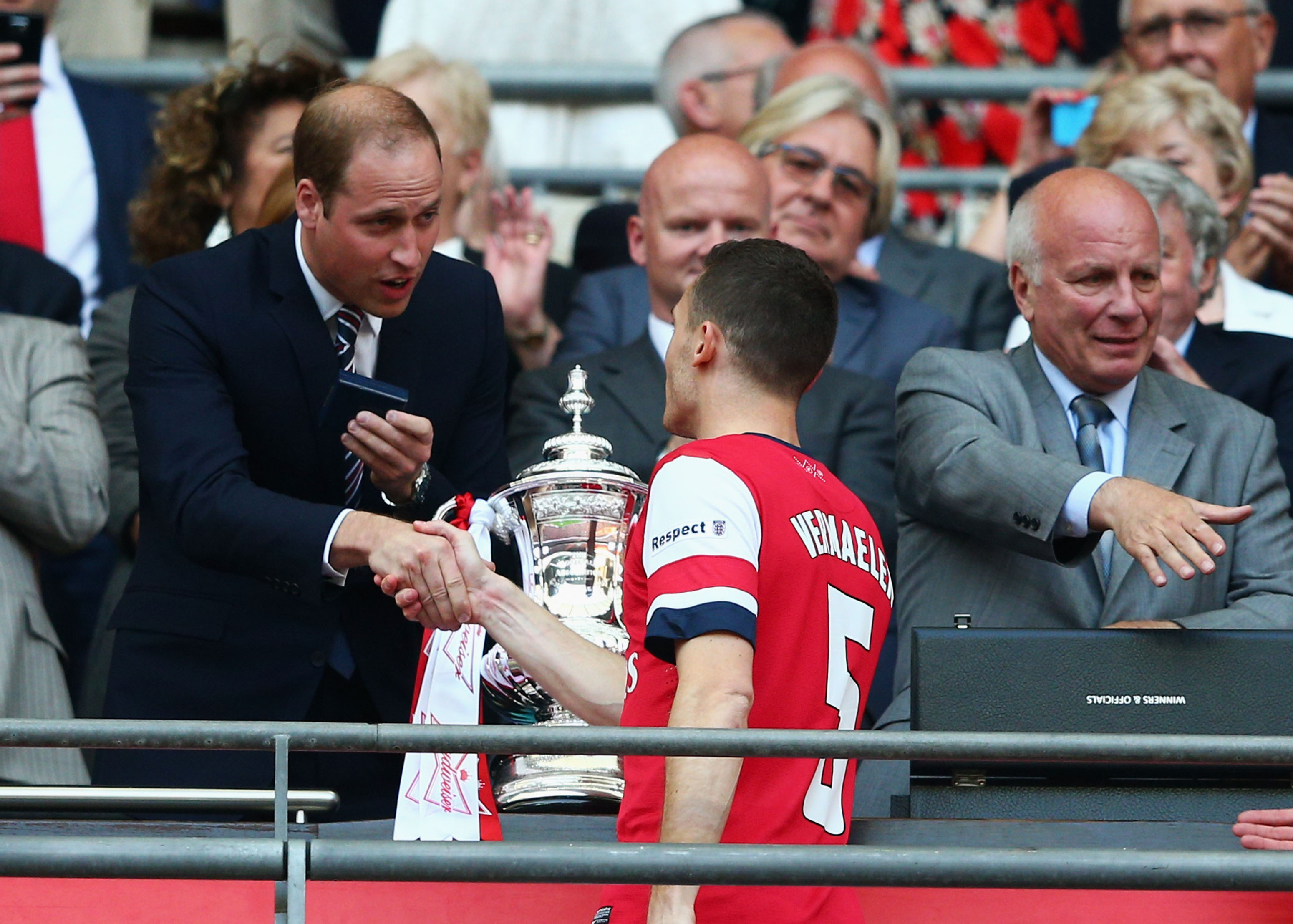 Prince William to Miss FA Cup Final for Prince Harry's Wedding