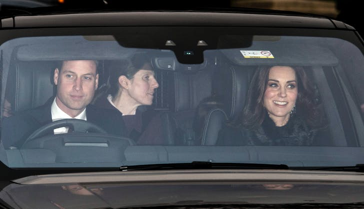 Prince William Kate Middleton Christmas lunch