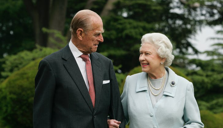 Queen Elizabeth II Prince Philip Platinum Wedding Anniversary