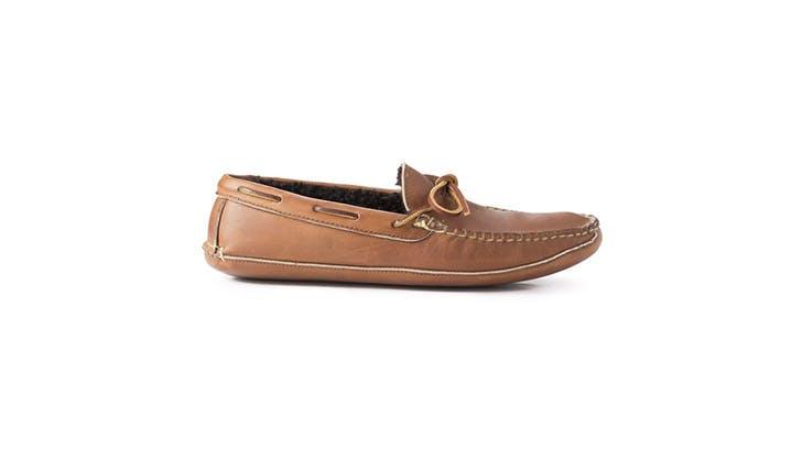 Rancourt Leather Slipper