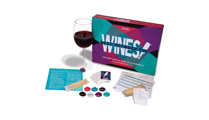 Read Between the Wines Party Game