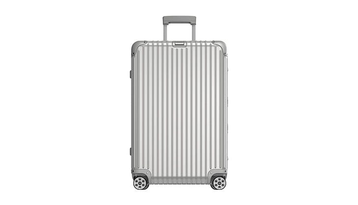 Rimowa Silver Carry On Luggage