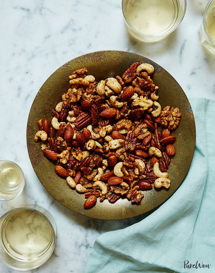 Roasted Nuts Last Minute New Years Eve Party appetizer