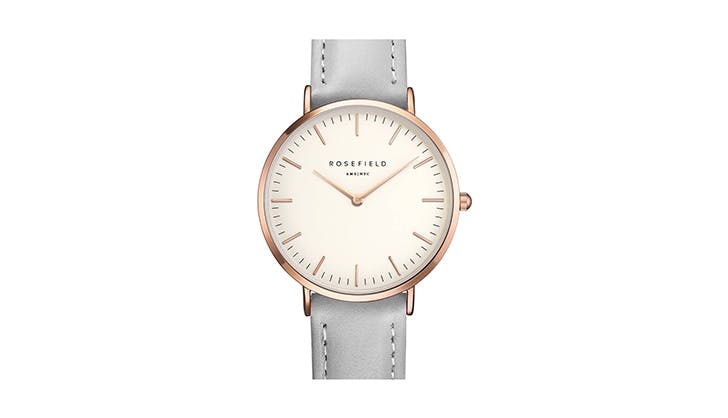 Rosefield leather watch
