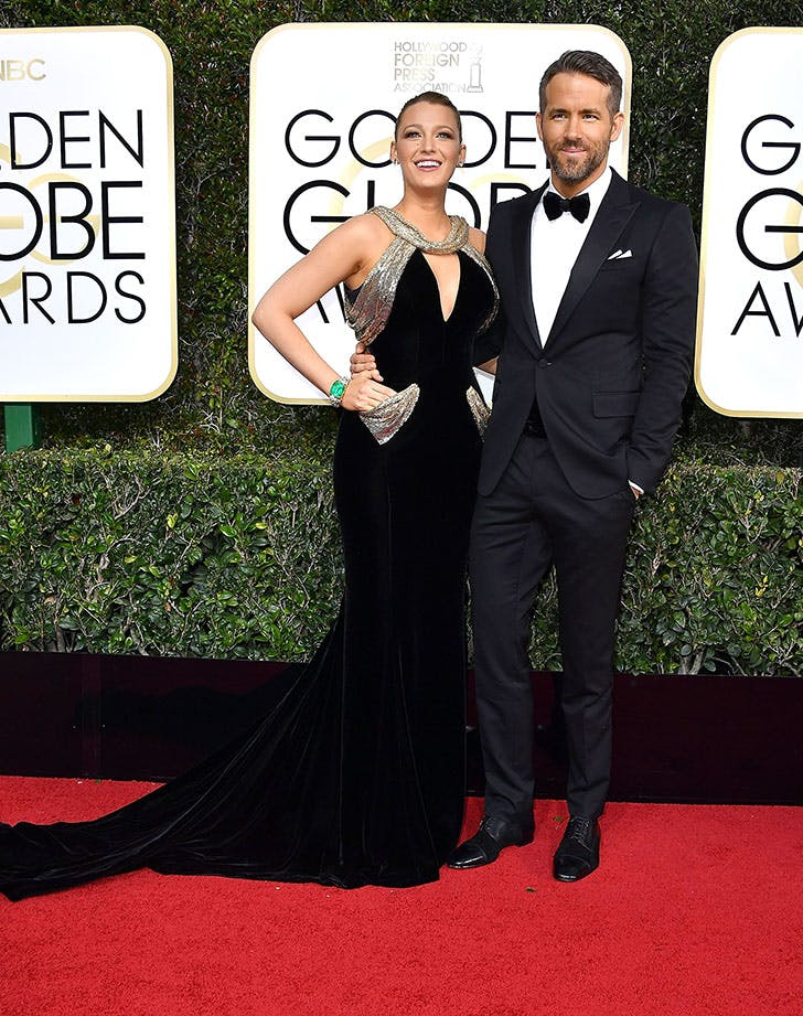 Ryan Reynolds Blake Lively best dressed golden globes couple
