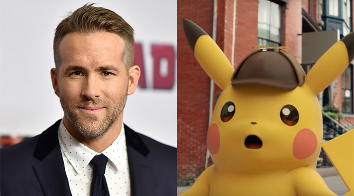 Ryan Reynolds catches title role in Detective Pikachu