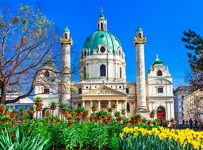 Sacred building in Vienna in Austria