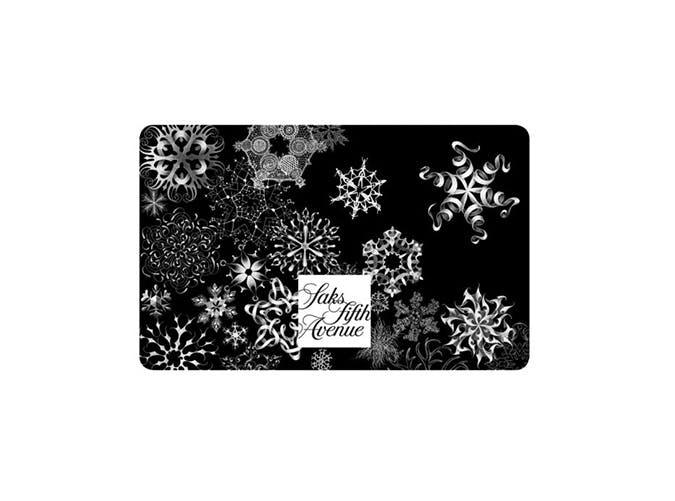 Saks Fifth Ave gift card
