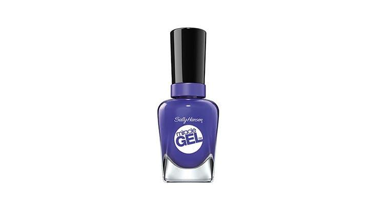 Sally Hansen Purple nail polish