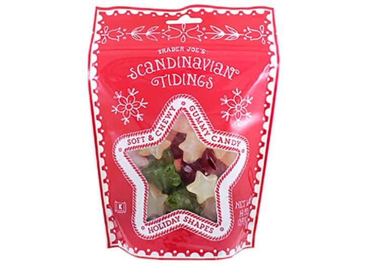 Scandanavian tidings Trader Joes candy last minute stocking stuffer