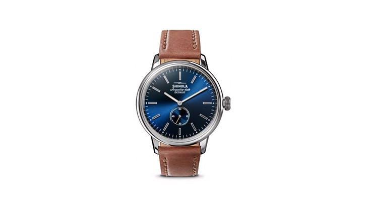 Shinola Leather Watch