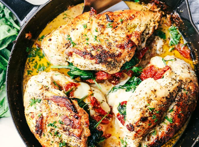 25 Next-Level Stuffed Chicken Breast Recipes