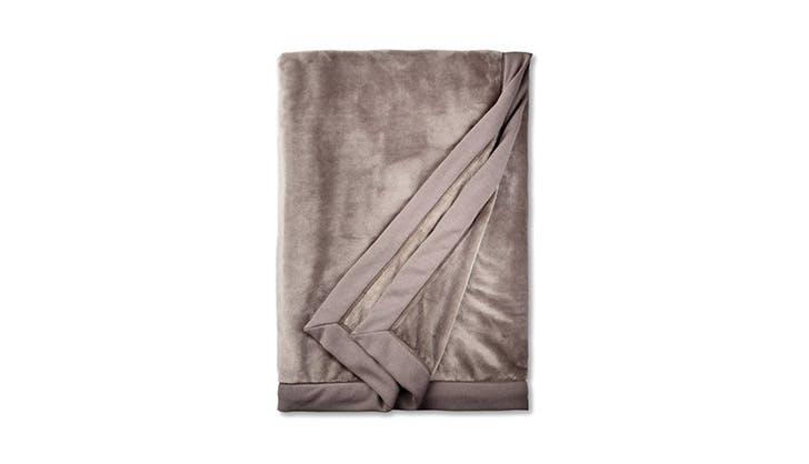 Ugg plush blanket