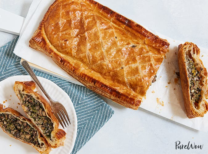 Vegetable Wellington with Mushrooms and Spinach vegetable recipes for kids