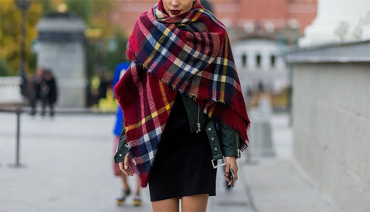 Winter Accessories Blanket Scarf
