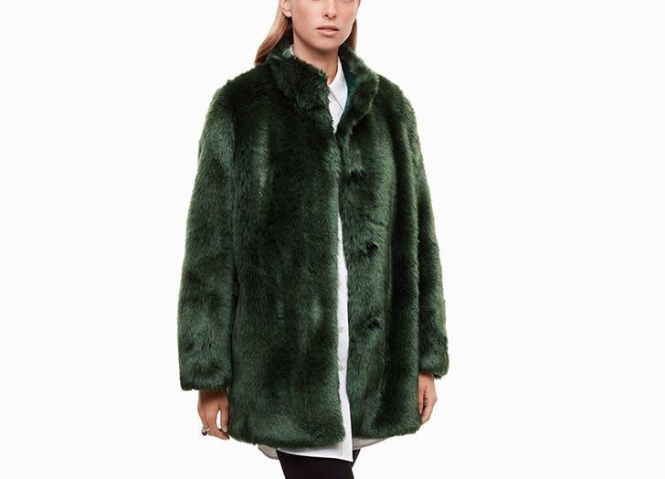aritzia faux fur