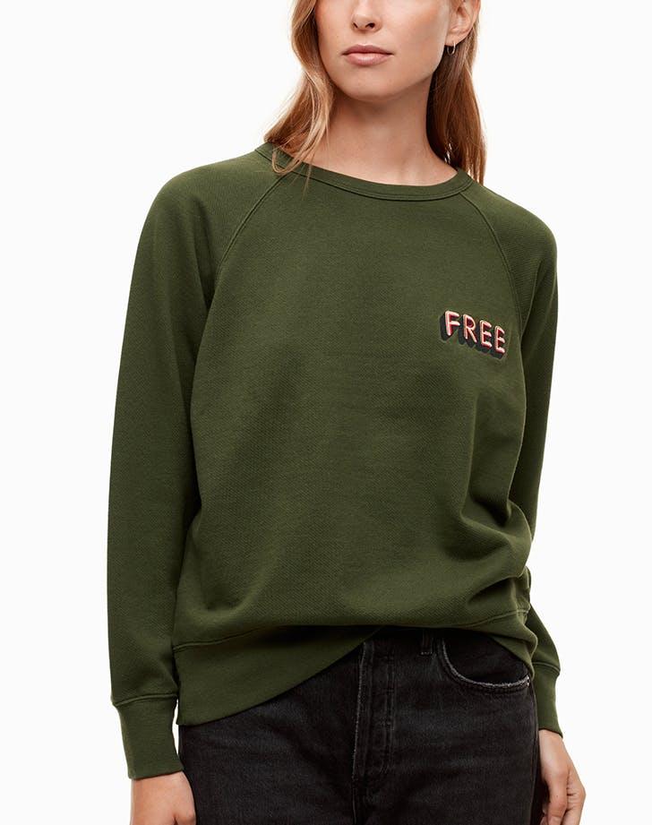 aritzia sweatshirt