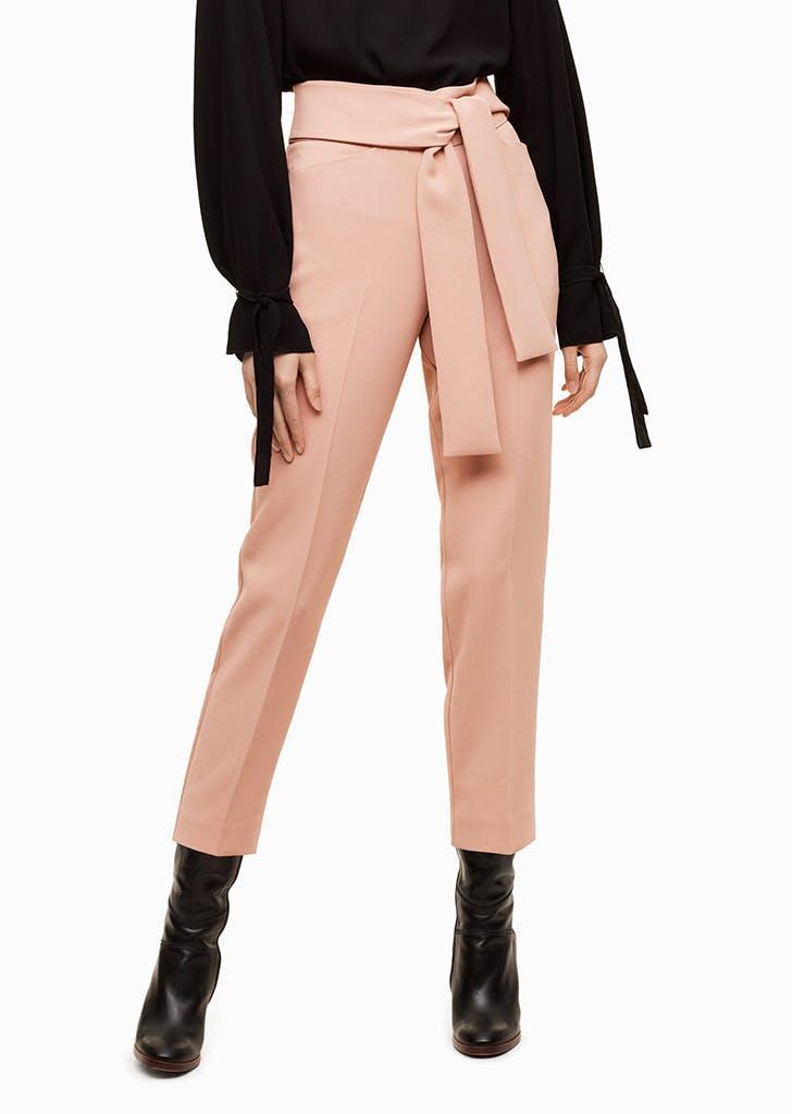 aritzia tie waist pants
