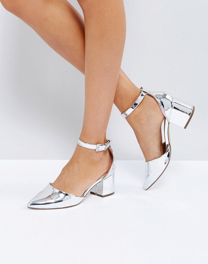 asos silver heels holiday outfits NY