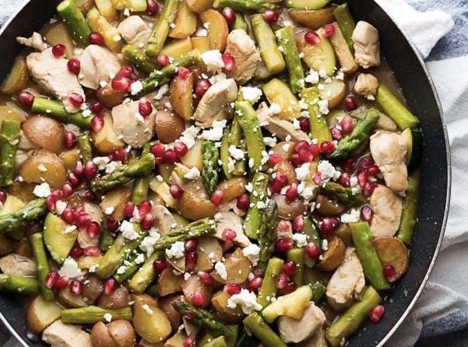 balsamic chicken skillet recipe 501