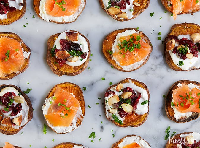 best appetizers potato crostini
