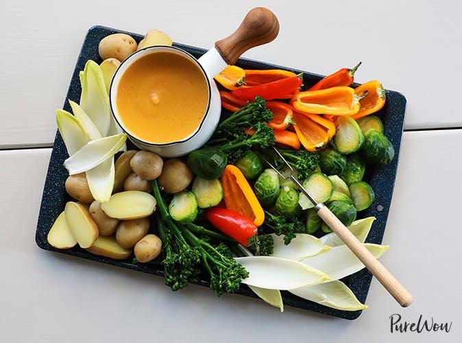 best appetizers squash fondue