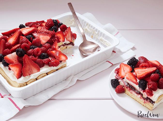 best desserts berry tiramisu