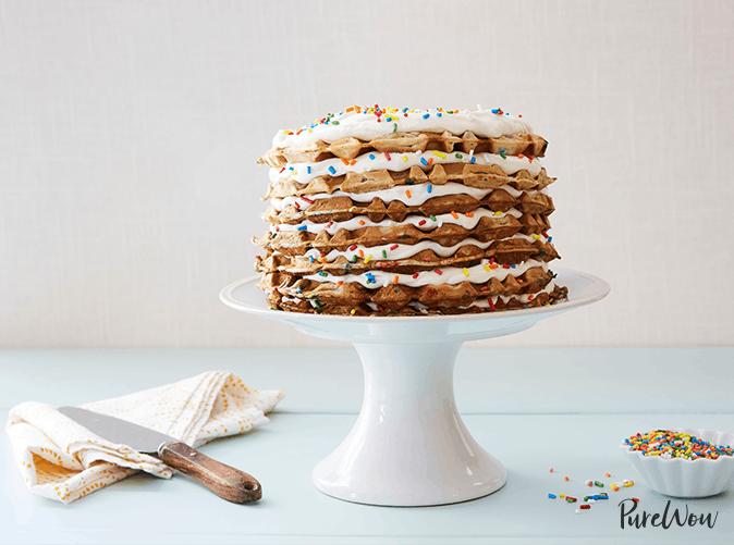 best desserts waffle cake