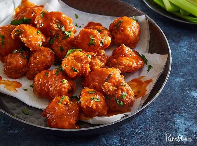 buffalo cauliflower nuggets